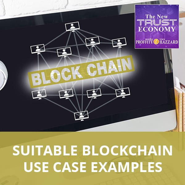 Suitable Blockchain Use Case Examples